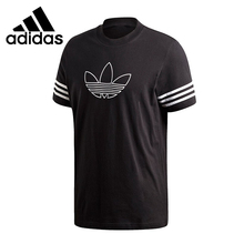 Original New Arrival Adidas Originals OUTLINE TEE Men's T-shirts short sleeve Sportswear