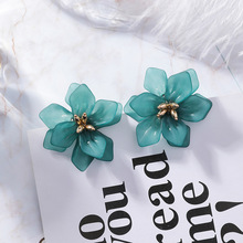Vintage Fairy Earrings  Flower Long Tassel Dangling Fashion Jewelry Luxury Designer Accesorios Mujer