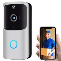 RC Video Stimme Türklingel, wiFi Smart Wireless Türklingel Sicherheit Home Kamera Echt-Zeit Video und Zwei-Weg Sprechen, Nachtsicht