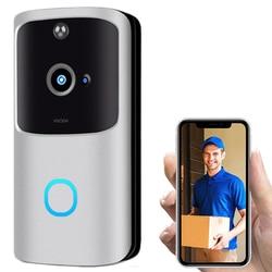 RC Video Voice Deurbel, wiFi Smart Draadloze Deurbel Security Thuis Camera Real-Time Video en Twee-weg Talk, Nachtzicht