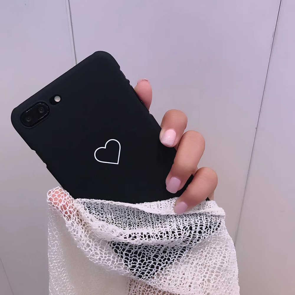 Voor iPhone 6s Case voor iPhone 7 8 Plus Marmer Minnaar Patroon TPU Siliconen Telefoon Gevallen Voor iPhone X 6 XS MAX XR Back Cover Coque