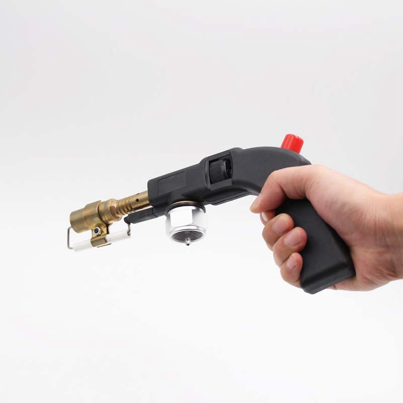 Gas Self Ignition Handle Torch Brazing Solder Propane Welding Plumbing for MAPP