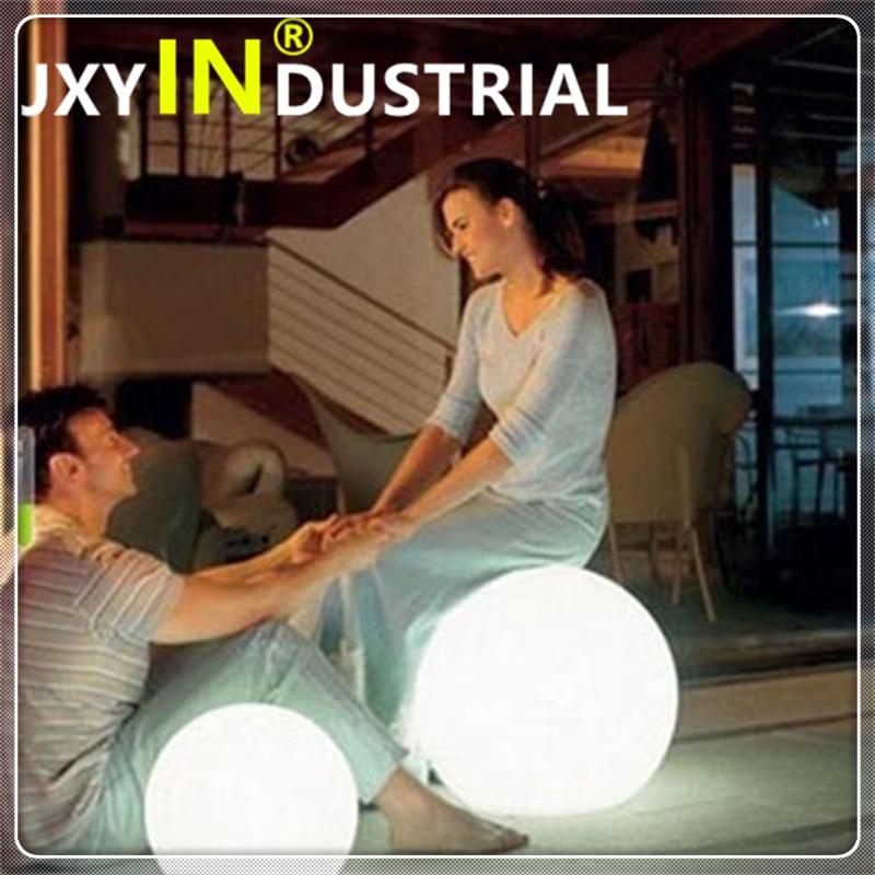 2pcs/lot 20cm/25cm/30cm Rechargeable Dc5v Led Stage Decoration Ball /led Party Decoration Ball / Colors Change Via Remote