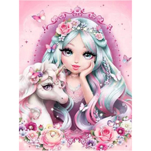 Crafts Diamond-Painting Rhinestones-Picture Unicorn Mosaic DIY Home-Decor Girl Cartoon