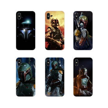 For Samsung Galaxy J1 J2 J3 J4 J5 J6 J7 J8 Plus 2018 Prime 2015 2016 2017 Boba Fett render Accessories Phone Shell Covers image