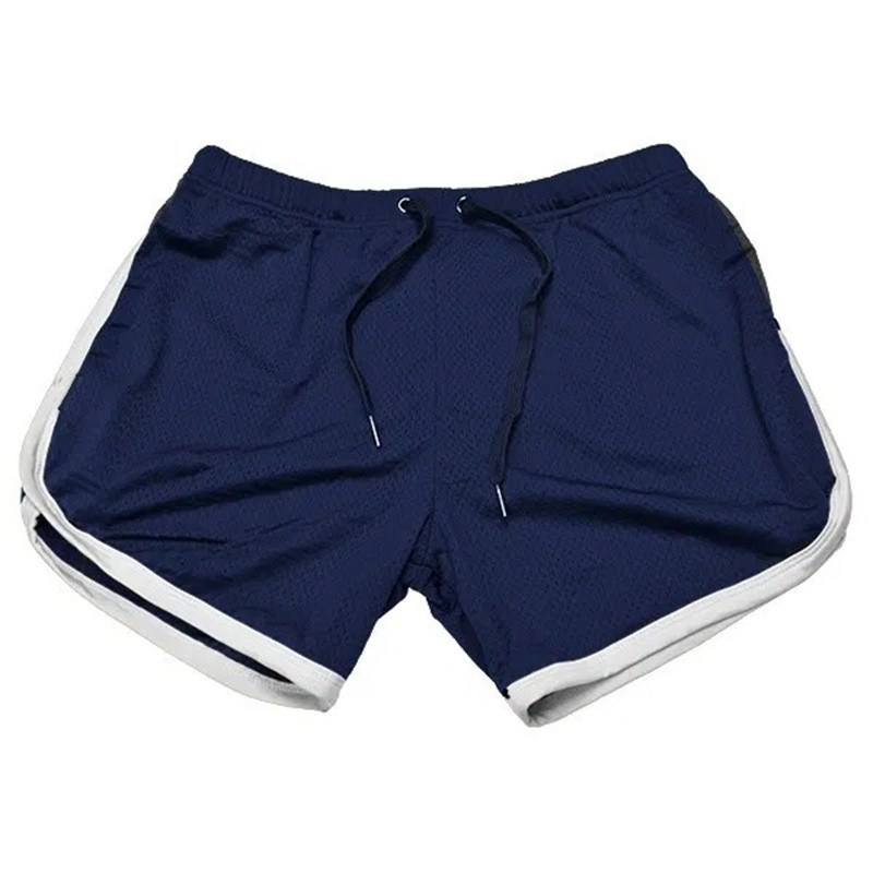 Running Shorts Men Gym Fitness Training GITF Quick Dry Beach Short Pants Male Summer Sports Workout Fitness Bottoms 7