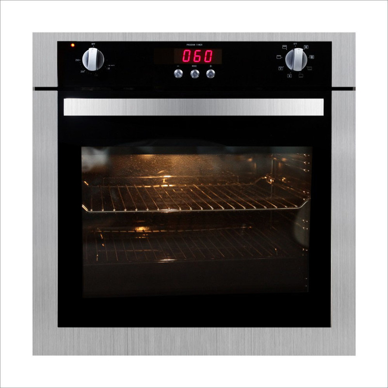 R012 New Touch Screen Oven Home Embedded Electric Oven Wind Grilled With Rotating Fork