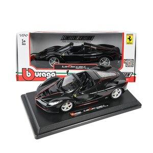 Image 5 - Bburago 1:24 FerrariสูงเลียนแบบรถDie หล่อโลหะรุ่นของเล่นเด็กของขวัญแฟนจำลองรถคอลเลกชัน