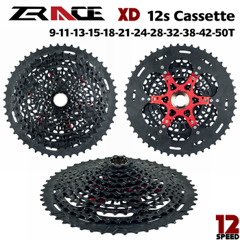 Zrace 12s XD casette 12 speed bicycle MTB free rule 9-50 t-negro compatible with SRAM XD freehub and xx1 X01 GX nx Á guila