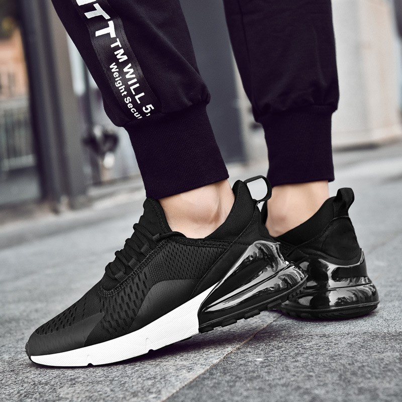 2019 Men Running Shoes Breathable Women Trainer Sneakers  Cushion Sport Shoes Cheap Size 35-45