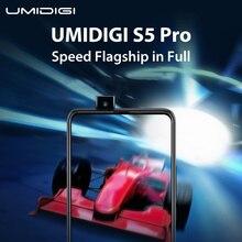 """UMIDIGI S5 Pro Wahre Volle Bildschirm Geschwindigkeit Flaggschiff Smartphone Welt Premiere 23th April Helio G90T 6GB 256GB 6.39 """"AMOLED Bildschirm"""