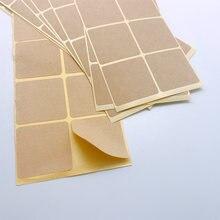 100 шт/лот новые винтажные квадратные дизайнерские крафтовые