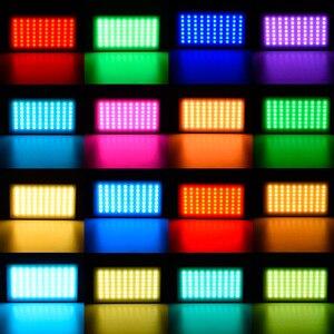 Image 5 - YONGNUO YN365 RGB 12W LED וידאו אור צבעוני צילום וידאו תאורת סטודיו DSLR מצלמה אור עבור Vlogging לחיות Sony ניקון