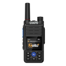 Camoro Network-walkie-talkie Zello, 4G, Wifi, Gps, Bluetooth, PTT, POC, Radio de largo alcance, 100 km