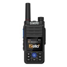 Camoro – talkie-walkie Zello, émetteur réseau, 4G, Wifi, Gps, Bluetooth, PTT POC, Radio, longue portée, 100 km