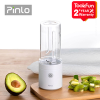 New Pinlo Mini Blender Portable Juicer Mixer Electric Kitchen hand food processor quick juicing cut charging battery Fruit Cup 1