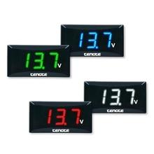 Accurate 12V Voltage Gauge Digital LED Display Voltmeter Volt Panel Meter For Car Motorcycle for Honda Yamaha