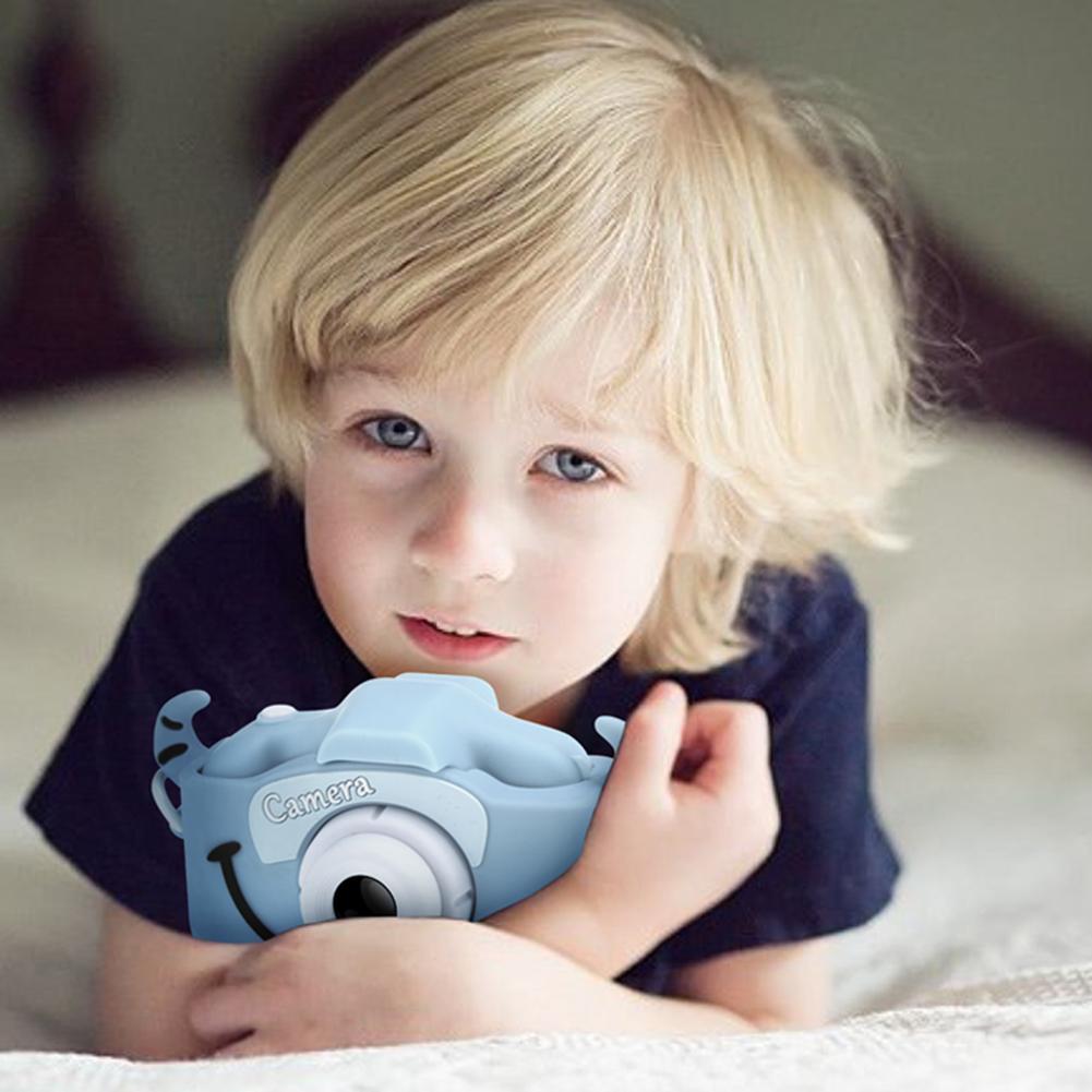 Q1 Kids Mini Digital Camera 1080P 12MP Video Photo Game Children Cam Toys Gift Photo Resolution 1920x1080 Video 4608x3456