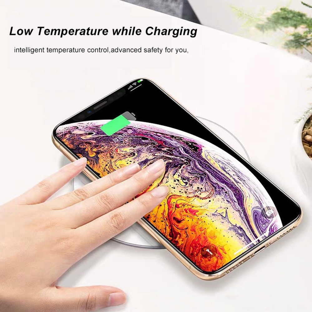 Gyso 20W Snelle Draadloze Oplader Voor Samsung Galaxy S10 S9 S8 Note 9 Usb Qi Charging Pad Voor Iphone 11 Pro Xs Max Xr X 8 Plus 12 4