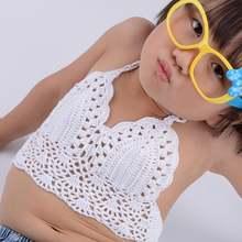 Детский купальник для маленьких девочек полосатый бикини детский