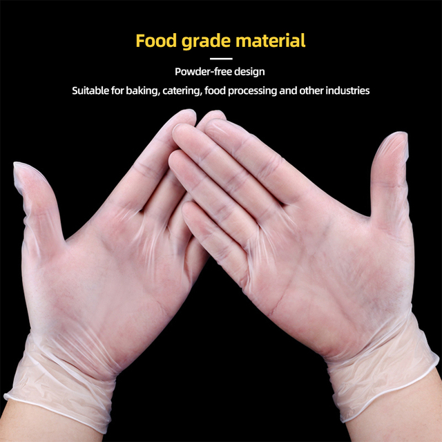 100 Pairs Rubber Comfortable Disposable Mechanic Nitrile Gloves Exam Gloves Nitrile Work Glove Disposable Gloves Luva New tanie i dobre opinie Dla dorosłych Unisex BUTYRONITRILE Stałe Nadgarstek Nowość