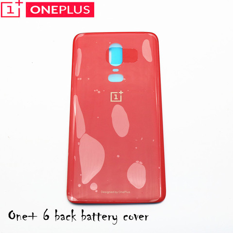 For Oneplus 6 Glass Battery cover Door Smart Phone Back Cover Replacement Repair Part for one plus 6 1+6 6.28 inch Islamabad