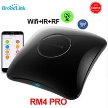 2020 Broadlink RM4 פרו Broadlink RM4, חכם אוטומציה בבית WiFi IR RF אוניברסלי מרחוק בקר עובד עם Alexa Google בית