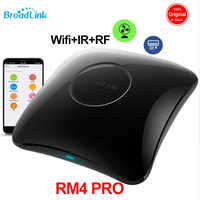 2020 Broadlink RM4 Pro умный дом автоматизация WiFi IR RF Универсальный Интеллектуальный пульт дистанционного управления работает с Alexa Google Home