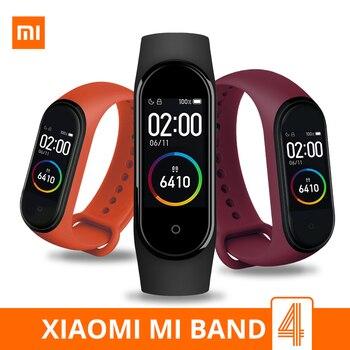 Xiaomi Mi Band 4 Smart Bracelet 3 Color AMOLED Screen Miband 4 Smartband Fitness Traker Original Sport Waterproof Smart Band