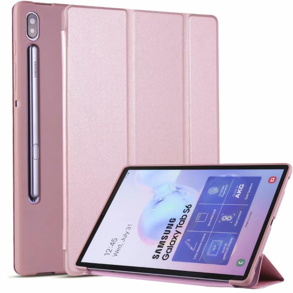 """Magnetic Smart Case For Samsung Galaxy Tab S6 10.5"""" 2019 SM-T860 T865 Ultra Slim Lightweight Folding Stand Auto Sleep/Wake Cover"""