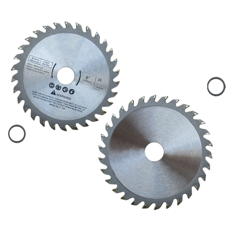 1pc 5 Inch 125mm 30T Wood Carving Disc Circular Saw Blade Disc Cutter Metal Plastic For Angle Grinder For Metal Cutting Discs
