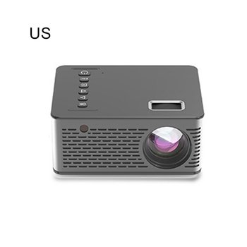 T200 Mini Miniature Portable Projector Without Blue Light 0 Short Focus Design Built-In Speakers Both Home And Outdoors