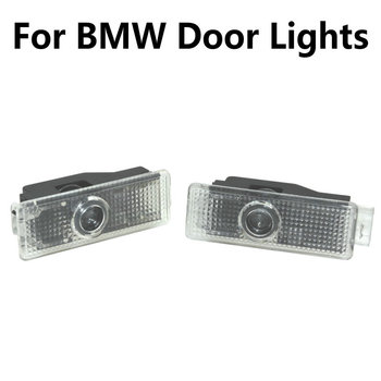 2X for BMW 3 5 7 Series E65 E66 F01 F02 E92 M3 E90 F10 F30 E60 M5 X1 X3 X4 X5 X6 Led Car Door Light Projector Welcome Light image