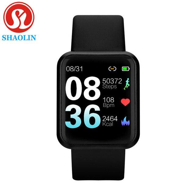 Su geçirmez akıllı İzle Bluetooth Smartwatch Apple IPhone Android izle kalp hızı monitörü spor izci adam kadın