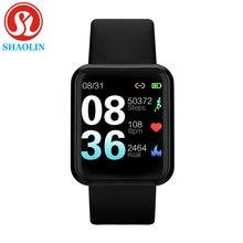 À prova dwaterproof água relógio inteligente bluetooth smartwatch para apple relógio iphone android relógio monitor de freqüência cardíaca fitness rastreador homem mulher
