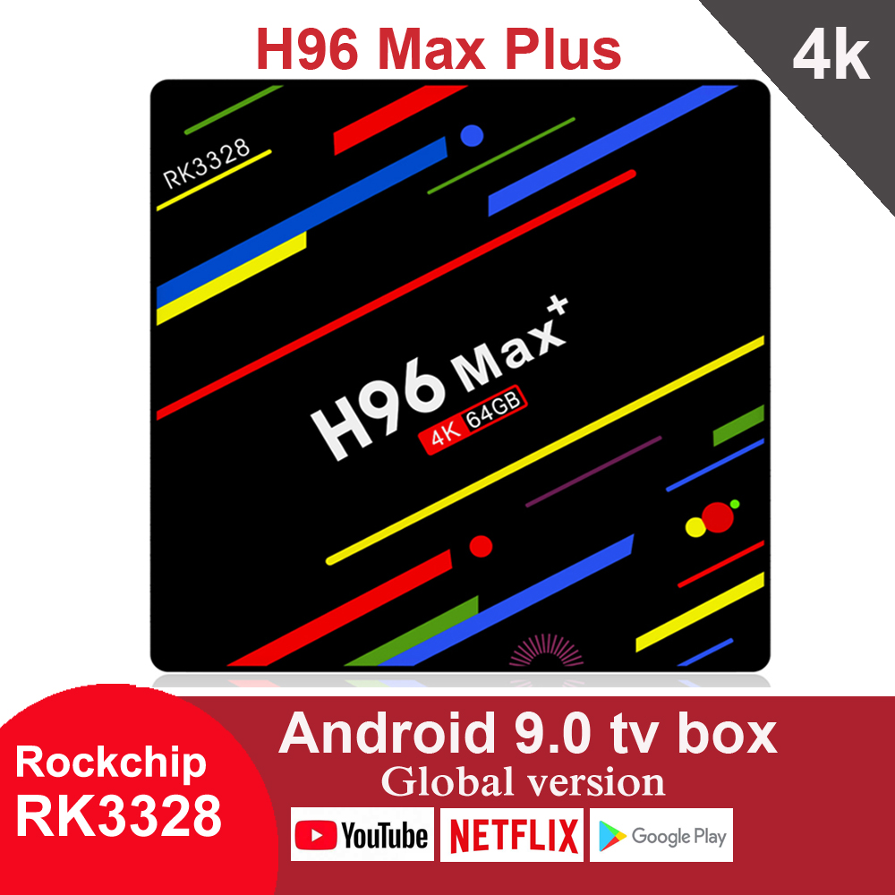 H96 Max Plus Smart Android 9,0 TV Box 4GB 32GB 64GB RK3328 Media player 4K Google asistente de voz de Netflix, Youtube H96MAX 2GB16GB XGODY P30 3G Smartphone 6