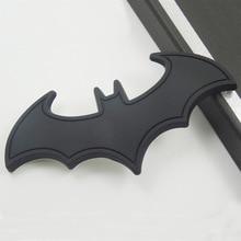 Auto Metal 3D Batman Stickers Car Logo Cartoon Bat Sticker Metal Badge Emblem Tail Decal Motorcycle Car Accessories