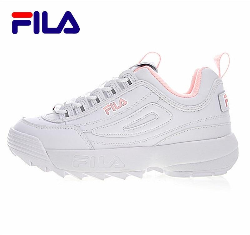 Original Fila Disruptor II Women Sneaker Running Shoes Summer Increased Outdoor Fila Chunky Sneakers