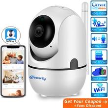 1080P Auto Motion Tracking Wireless Home Security Wifi IP Camera Cloud Audio Video Surveillance Baby Monitor CCTV PTZ Camera