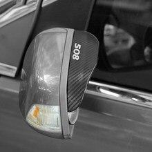 Автомобильное зеркало заднего вида защита от дождя и дождя Защита от дождя защитный чехол для Peugeot 508 аксессуары автостайлинг