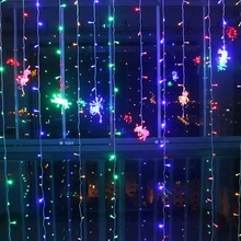 2x2/3x2/3x3m Curtain String Lights New Year 2020 Christmas Decorations for Home Decoration Ornaments Navidad