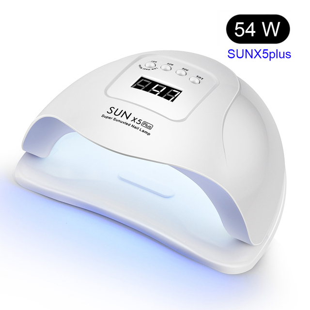 54W UV LED Nail Lamp with 36 Pcs Leds For Manicure Gel Nail Dryer Drying Nail Polish Lamp 30s/60s/90s Auto Sensor Manicure Tools 1