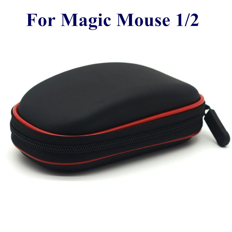 Shockproof Hard EVA PU Protective Case Carrying Cover Storage Bag For Magic Mouse I II Generation Wireless Mice Accessories