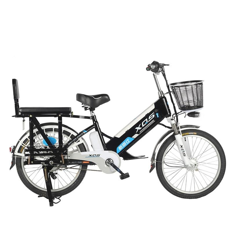 Electric 20inch 48v Lithium Electric Bicycle 240w big Wheel Motor Fat Ebike Max Speed 35-40km/h Cargo e-Bike