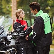 Мотоциклетный Воздухопроницаемый плащ для мужчин и женщин, летний водонепроницаемый костюм для взрослых, Раздельный дождевик и штаны, дождевик Толстовка для собак, пончо