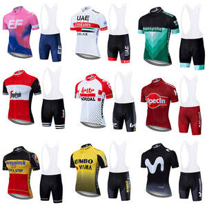A variety of professional cycling clothing short-sleeved sports clothing summer outdoor cycling shorts triathlon clothing men