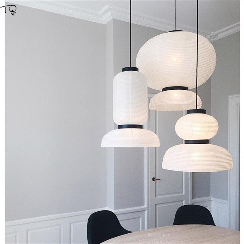 Ins Modern Oak Led Pendant Lights
