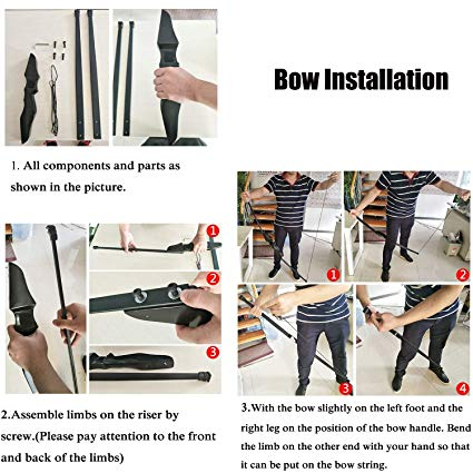Training Bow and Arrow Set for Youth Adult Beginners 3