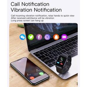 Image 2 - SENBONO 2020 SN87 Smartwatch IP68 su geçirmez akıllı saat erkekler kadınlar spor kalp hızı kan oksijen monitörü saat PK P8 B57