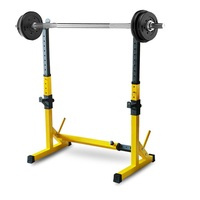200KG Commercial Gym Squat Stand Cross fit Power Rack Adjustable Squat Rack  81-131cm